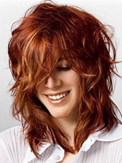 Medium Wavy Hair Styles Medium Wellige Frisuren Frisuren