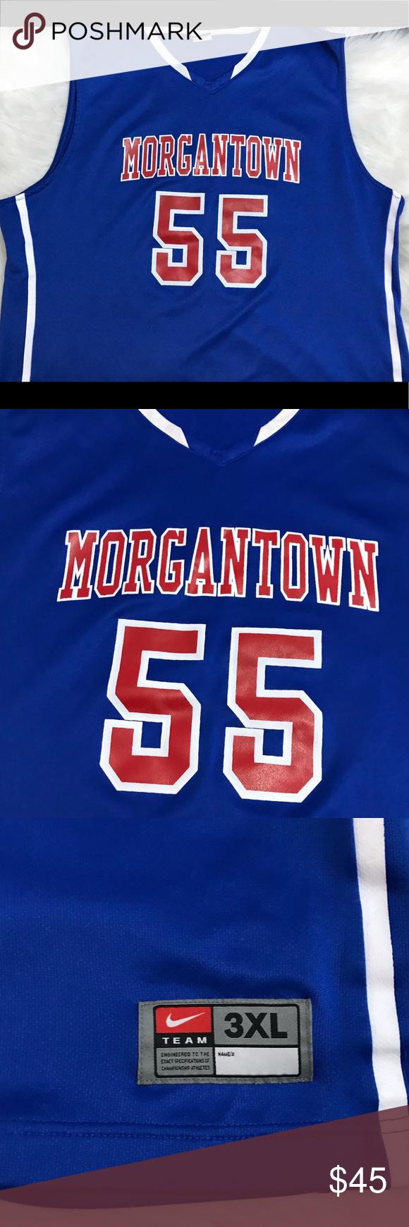 Men s WVU Basketball Jersey Basketball jersey