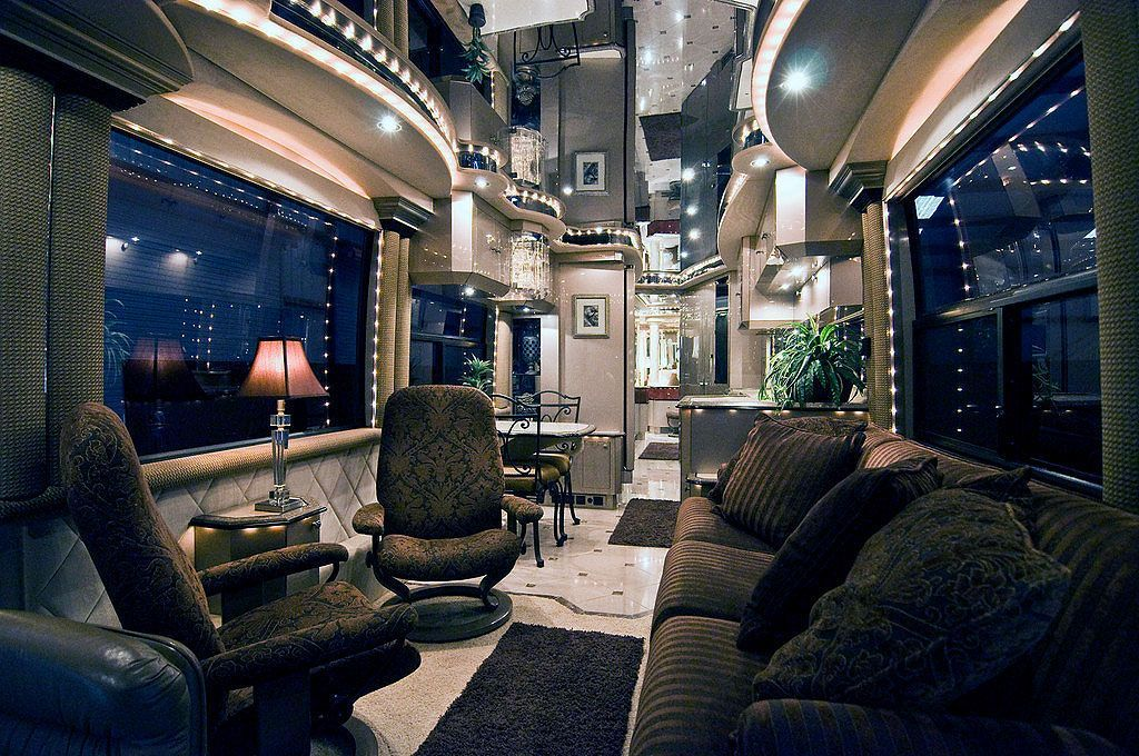 This Luxury Rv Is Basically A Palace On Wheels Travel Trailer