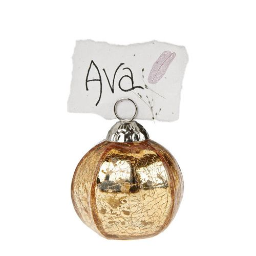 christmas ornaments place card holder