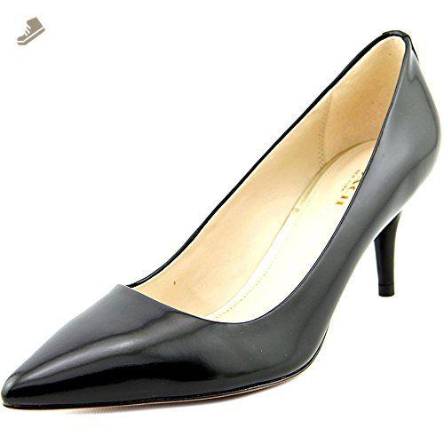 9aa08de7543 Coach Grand Pointed-Toe Kitten Classic Heels - Black Leather