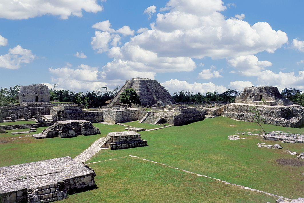 Mayap n la ltima gran capital maya con m s de 4 mil for Estructuras arquitectonicas