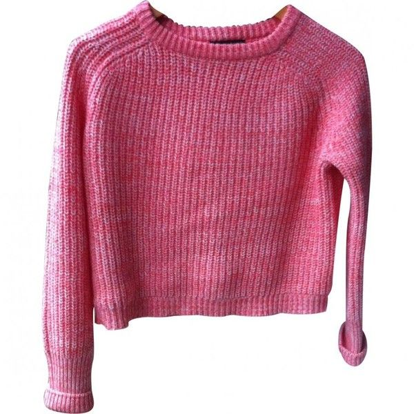 Fisherman jumper AMERICAN APPAREL ($42) ❤ liked on Polyvore featuring tops, sweaters, cotton sweaters, purple sweater, purple jumper, jumpers sweaters and jumper top