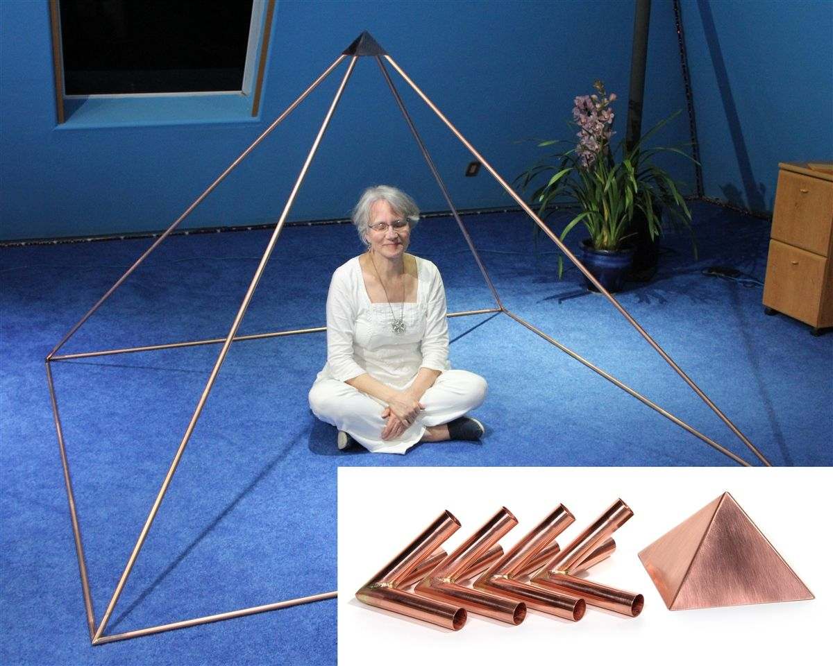 The Best Quality, Perfectly Handcrafted And Most Affordable Copper  Meditation Pyramid Connector Kit Available To
