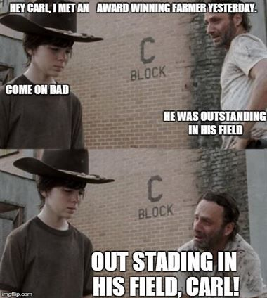 af1a3fc750ccb8bc78b2ba2d6bcbbacb coral! coral! 17 of the best walking dead memes funny