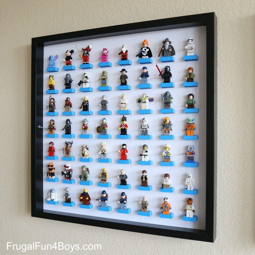 IKEA Frame LEGO Minifigure Display and Storage | Dormitorios niños ...