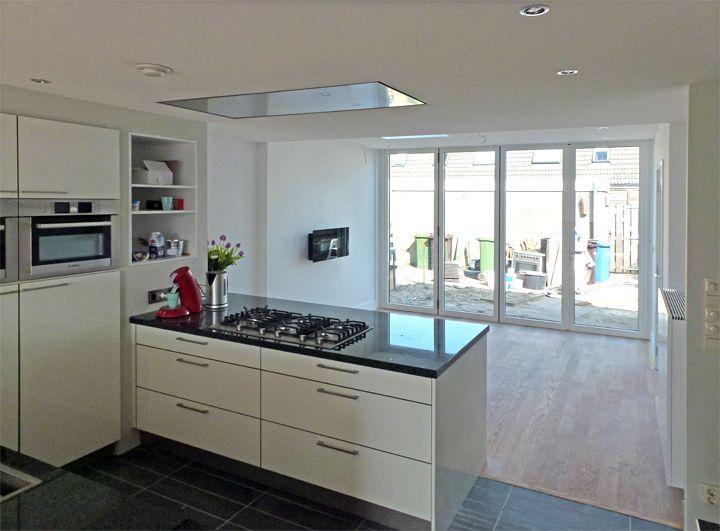 1106 interier naar achteren gekeken keuken pinterest plattegronden keuken en - Outs studio keuken ...