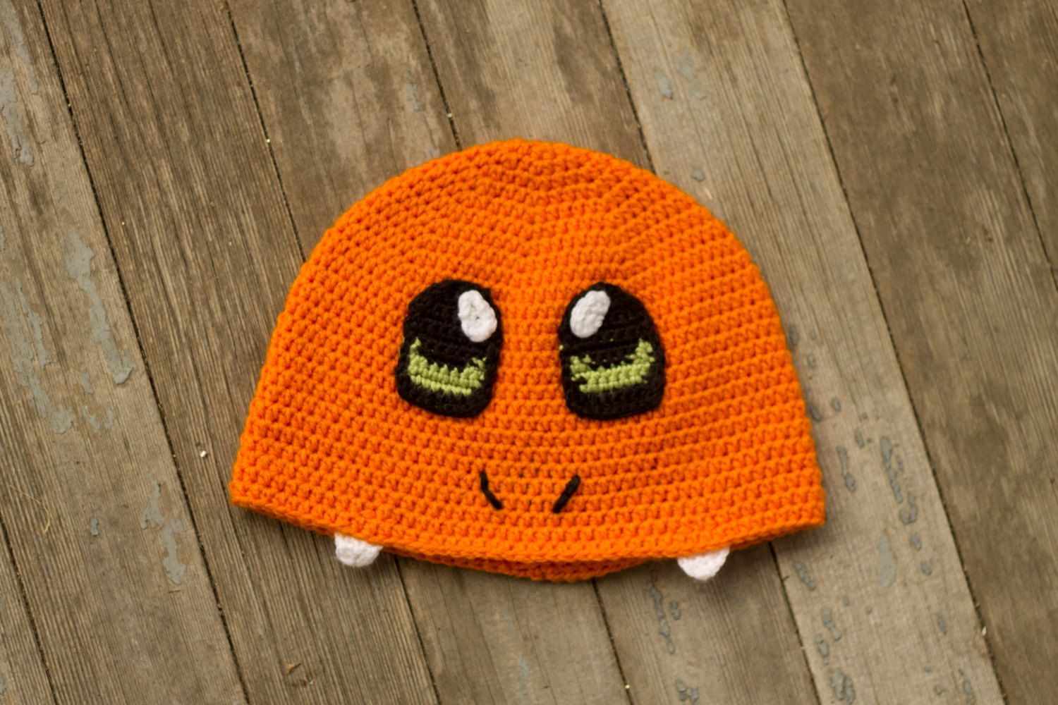 Geek Wear Gaming Fashion Crochet Winter Hat Charmander Inspired