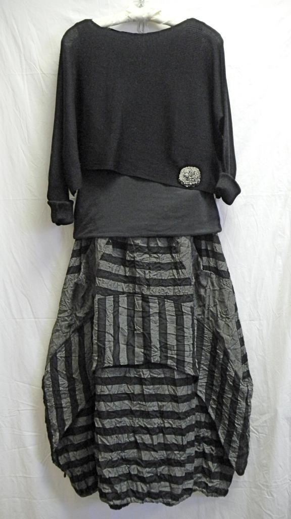 Multi directional striped dress. in 2019 | Kleider ...