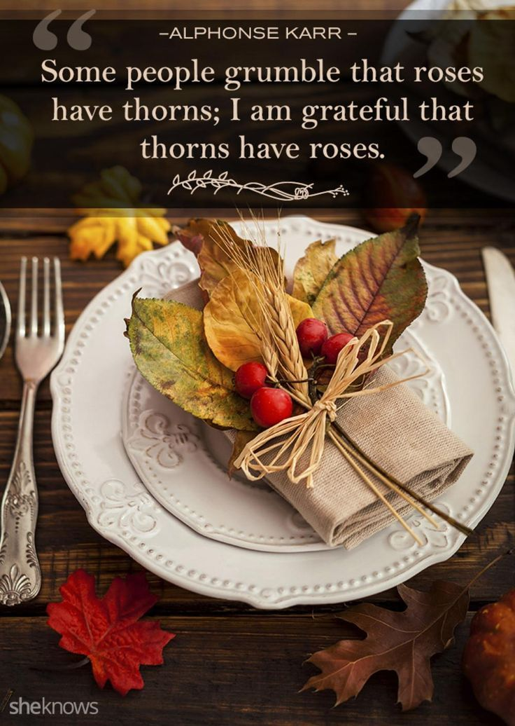 Thanksgiving Quotes Perfect to Read Around the Dinner Table