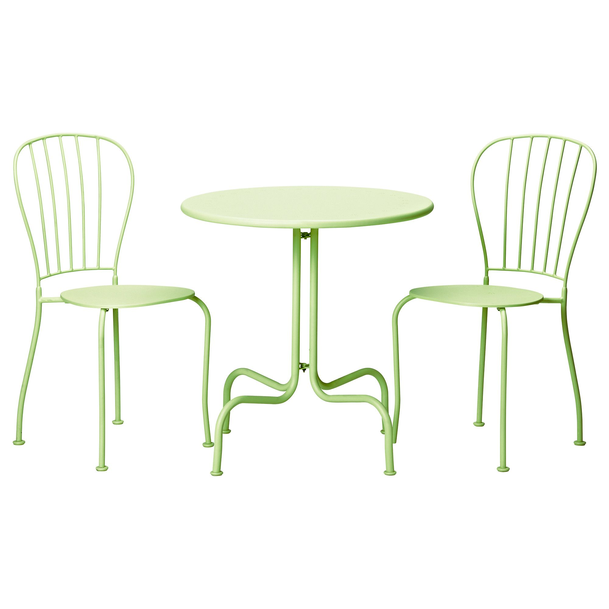 LÄckÖ Bistro Set Light Green Ikea
