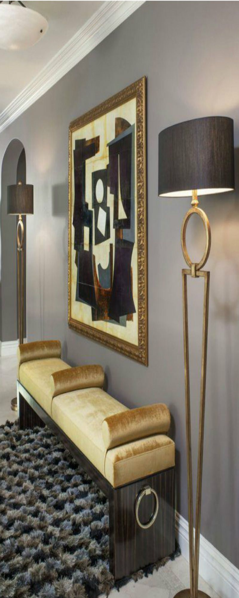 Contemporary hallway ideas  Pin by Liveyourdreams  on  ENTRYWAY Decratins  Pinterest