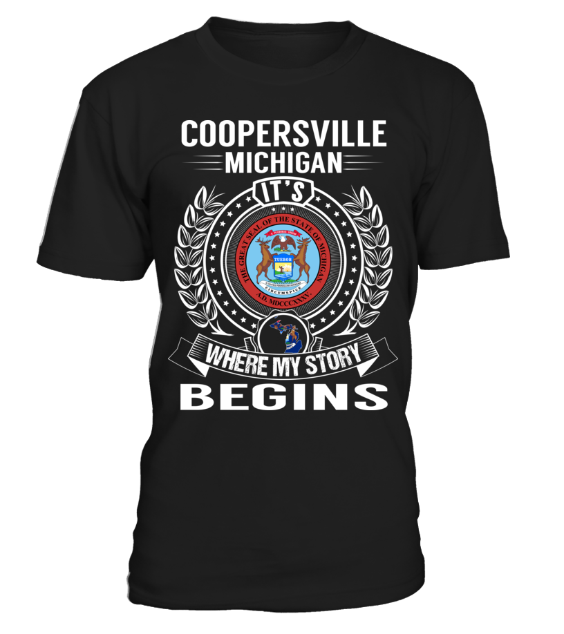 Coopersville, Michigan - My Story Begins