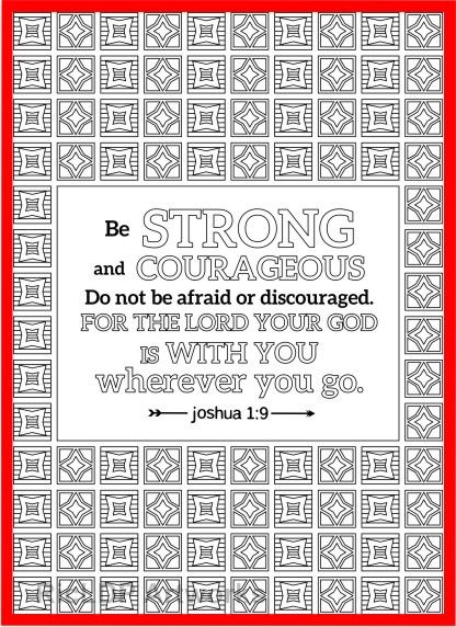 A Set Of 12 Bible Coloring Pages Joshua Colouring