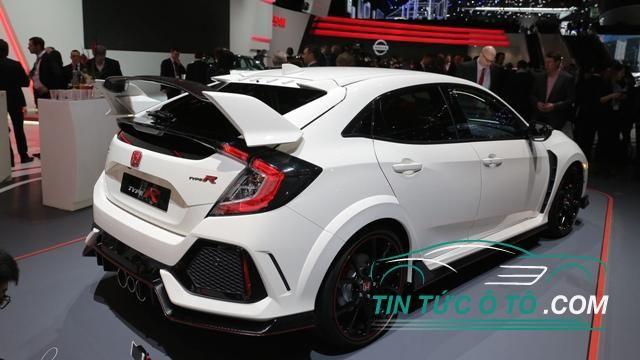 Rò rỉ giá xe Honda Civic Type 2017 tại thị trường Mỹ