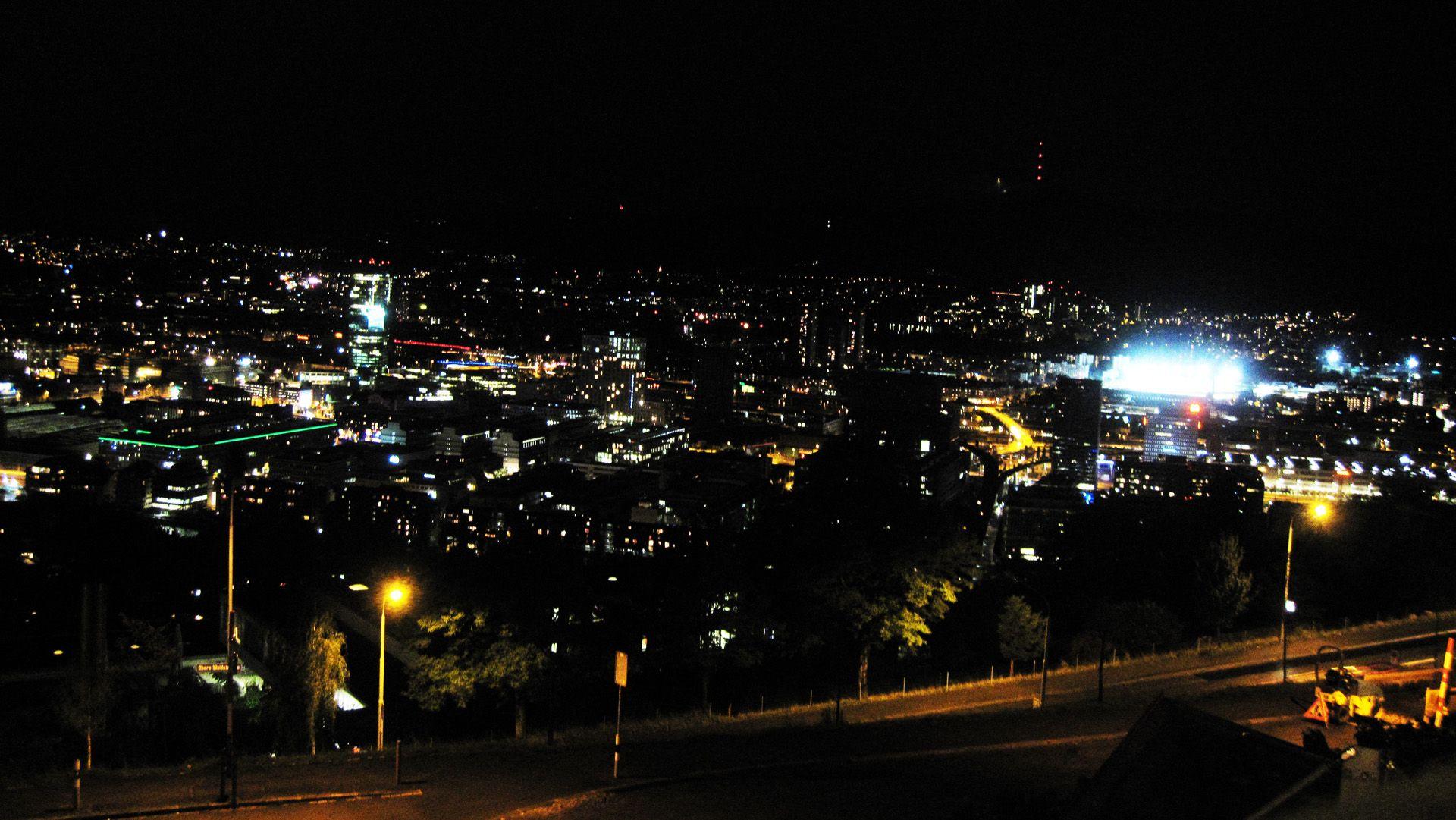 Zurich Bei Nacht Zurich Nacht