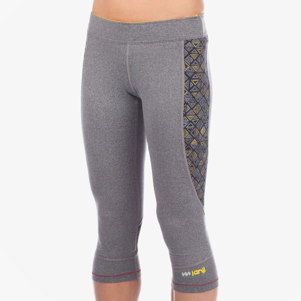 Women's Tanzania Running Capris gives 3 years of clean water to a person in Tanzania.