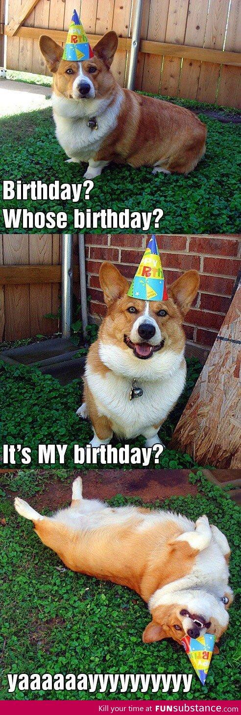 Whose birthday?