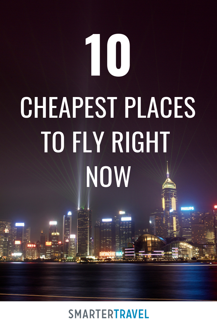 The 10 Cheapest Places To Fly Right Now Spring 2020 Cheapest Places To Fly How To Fly Cheap Spring Break Destinations