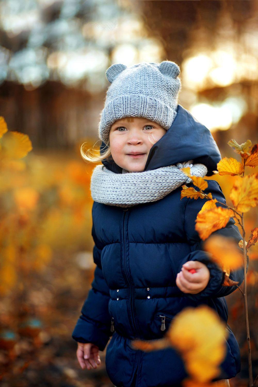Осенняя фотосессия Фотосессия в парке Детская Съёмка ...
