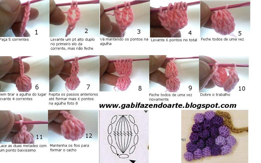 Que tal criar um cachinho de uvas utilizando o crochê? Essa é a dica que trouxemos para você!