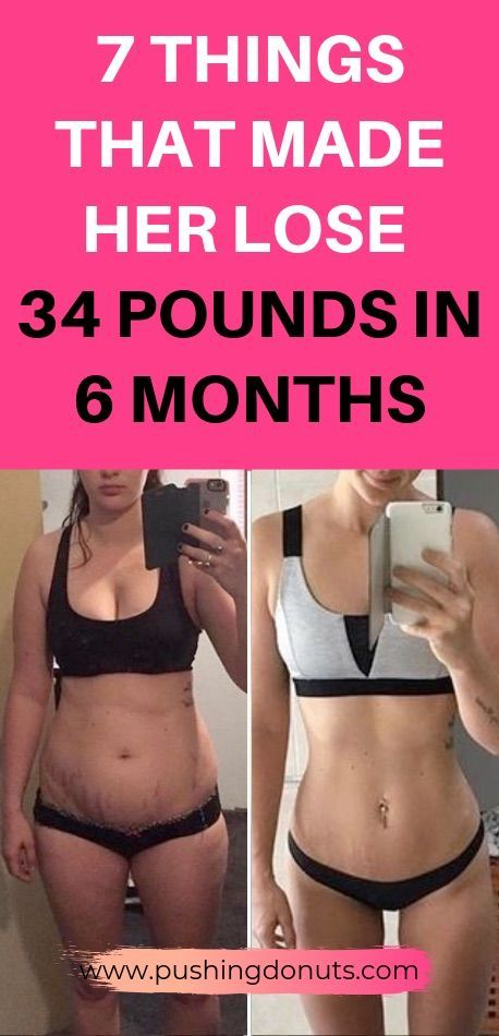 7 Brilliant Ways To Lose 34 Pounds In 6 Months images