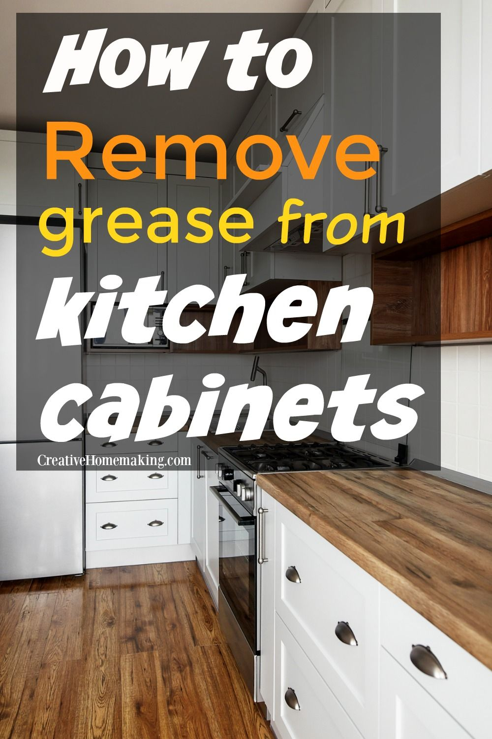 Removing Grease from Kitchen in 2020 Kitchen