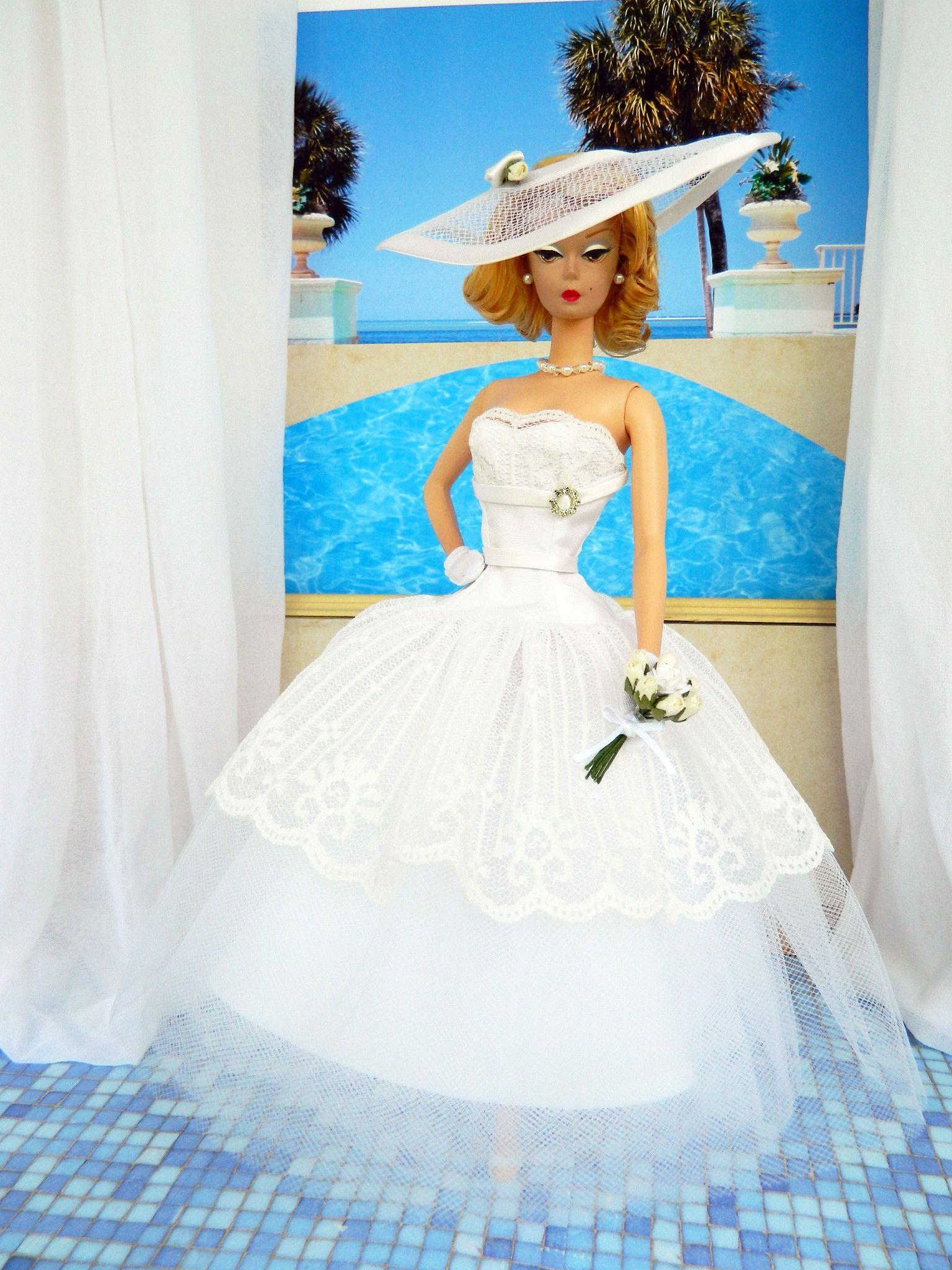 OOAK Summer Bride Fashion for Silkstone Barbie by Joby Originals ...