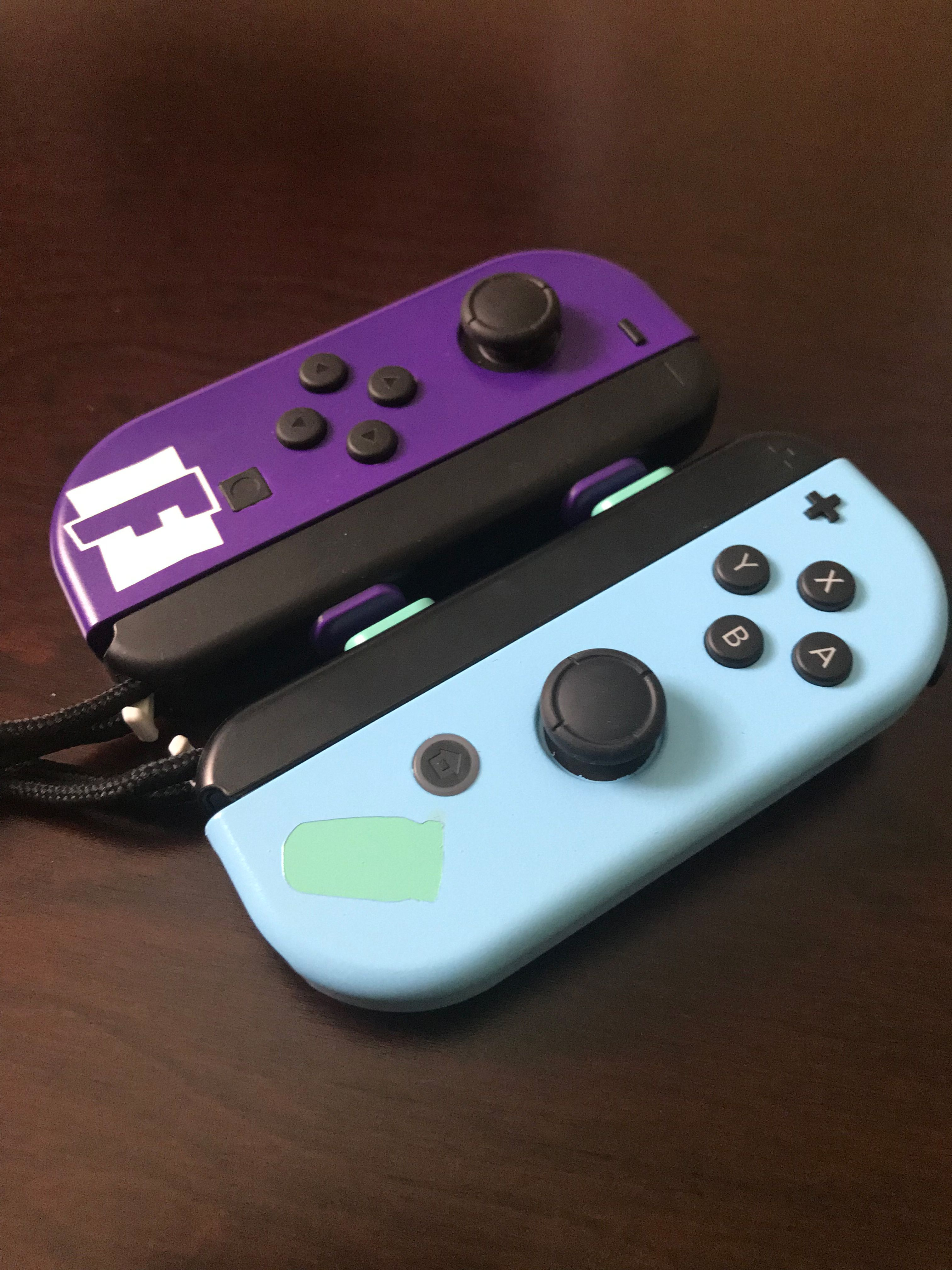 Fortnite Themed Joy-Cons | Controllers in 2019 | Nintendo
