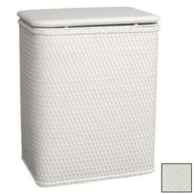 Lowes Laundry Baskets Redmon Mixed Materials Clothes Hamper 722Wh  Products