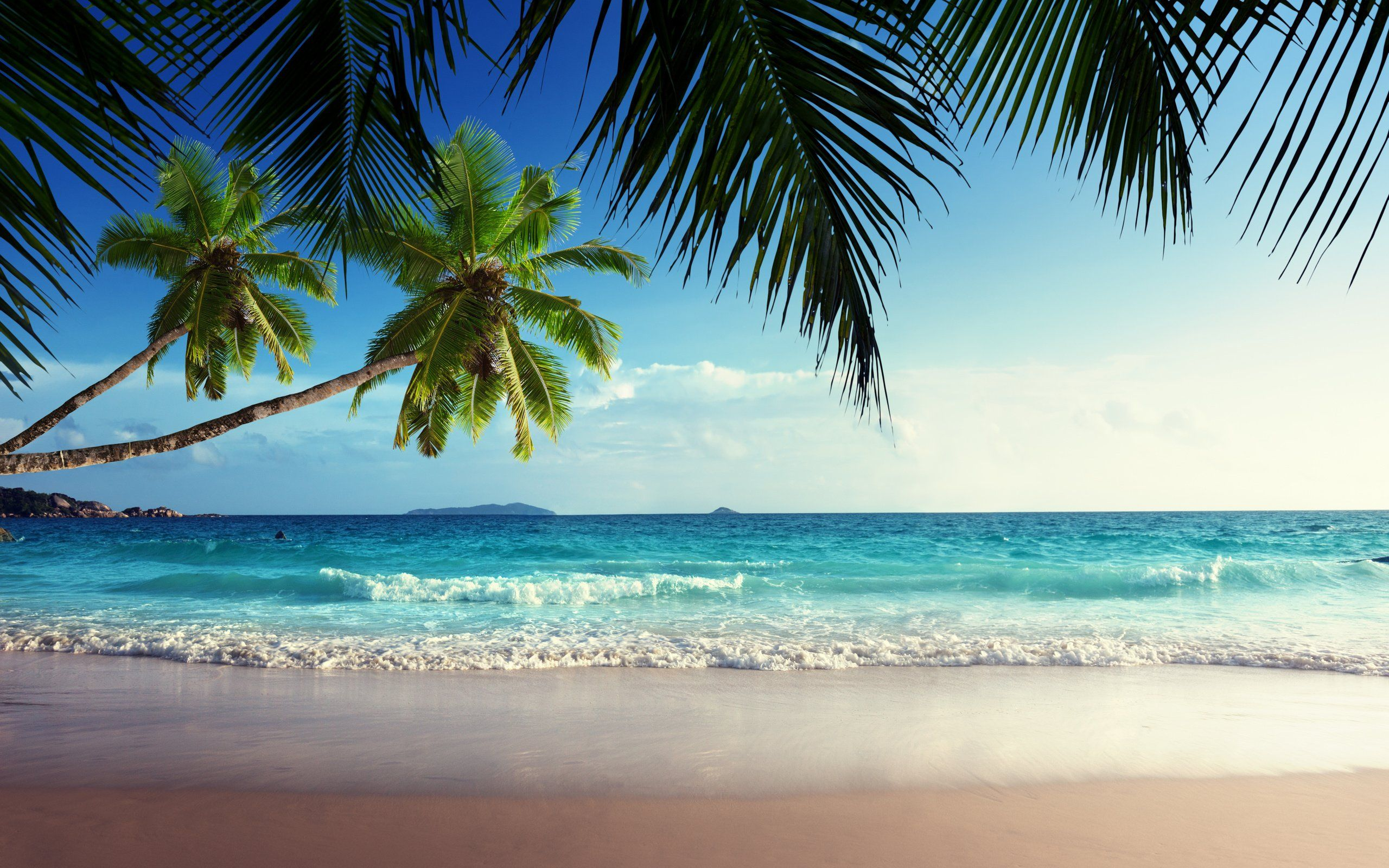 Tropical Beach Paradise Backgrounds: Tropical-beach-paradise-wallpaper-amaimagescom-tropical