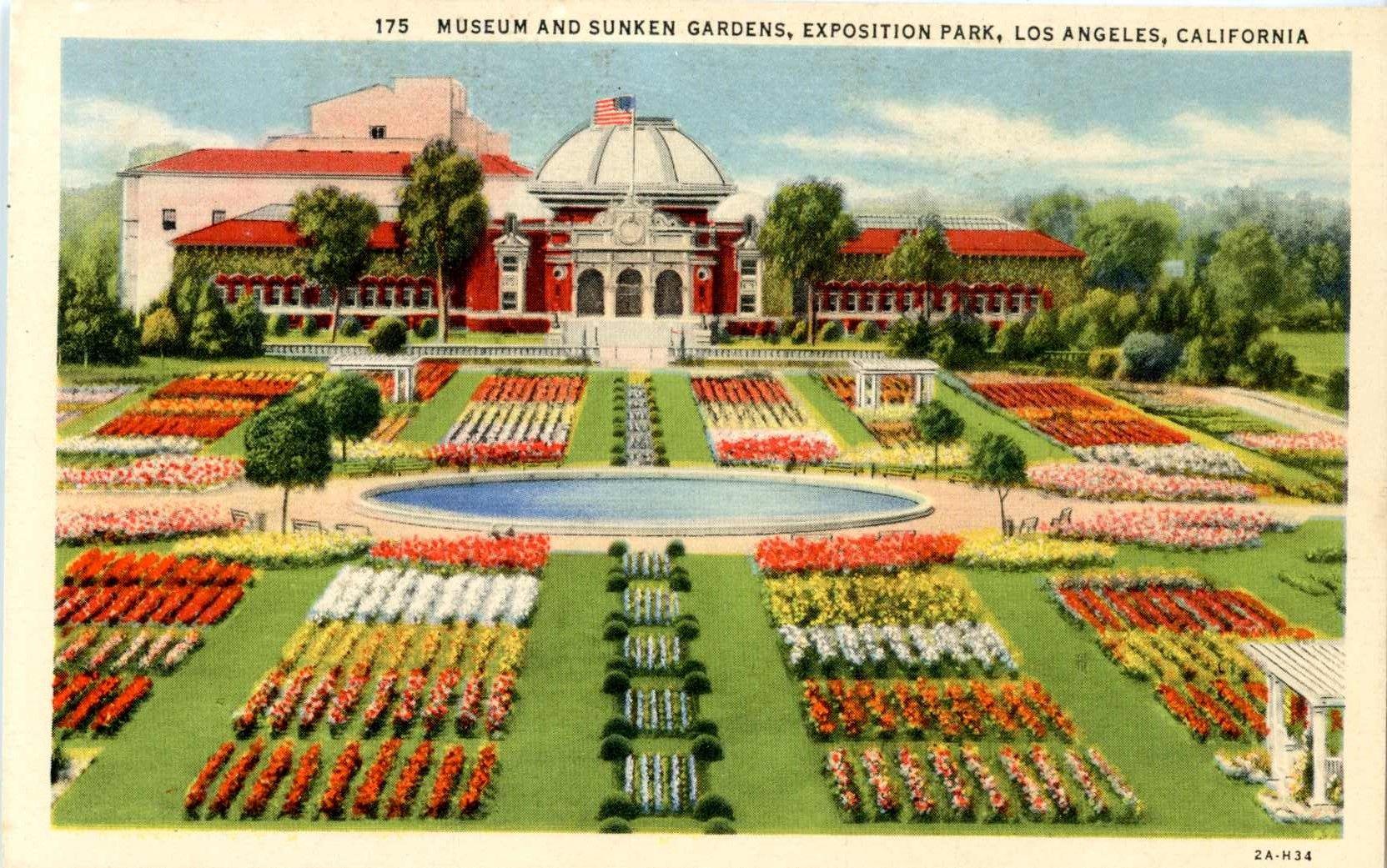 Old Los Angeles postcard. Hagins collection.
