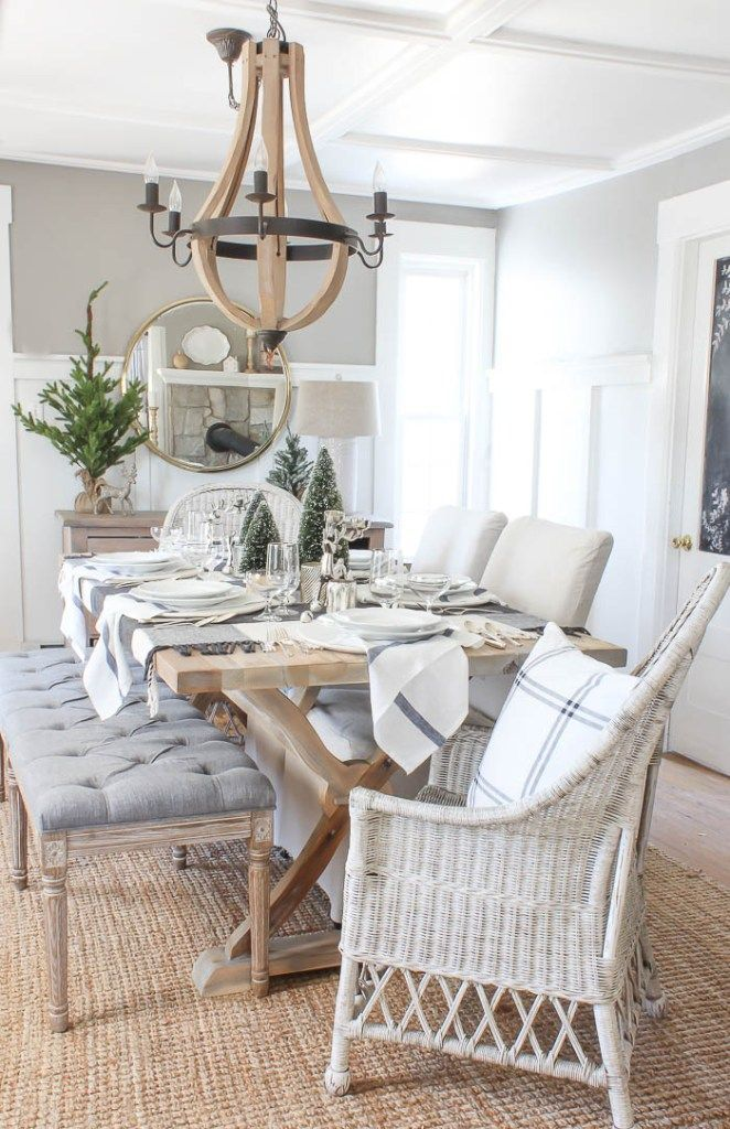 Room For Rent Design: Casual Christmas Tablescape