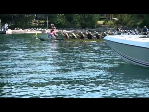 Dragon Boat Races on Flathead Lake, MT. Learn more about the Dragon Boat event here, http://flatheadlake.us/attractions/dragon-boat-festival/