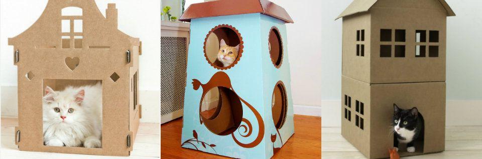 caja de carton para gatos - Google 검색