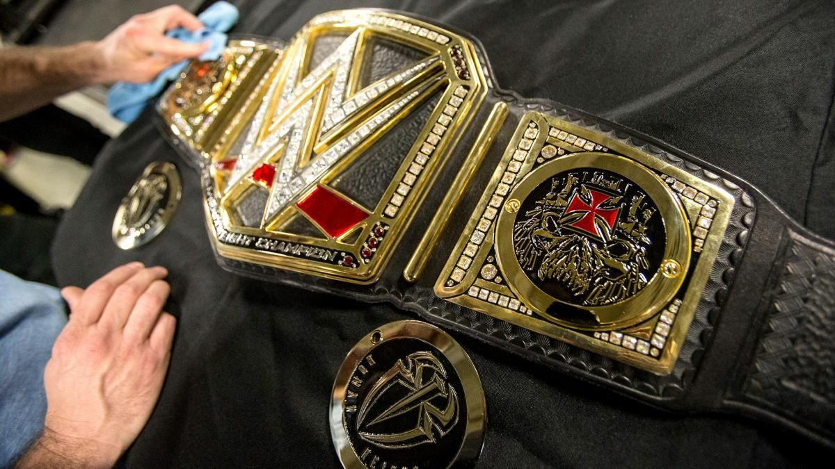 Personalisierte Wwe World Heavyweight Championtitel