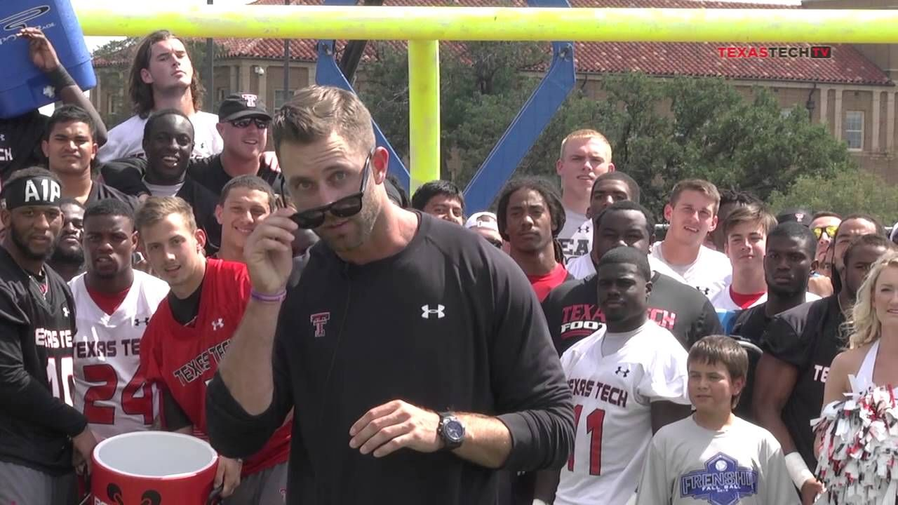 The techathletics football team pulled out all the stops