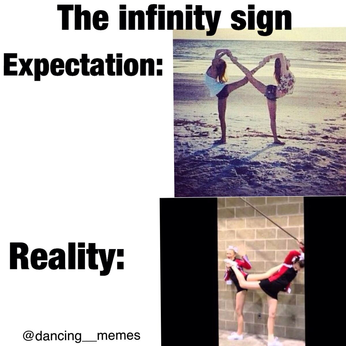 @dancing__memes ballet and dance meme Instagram account