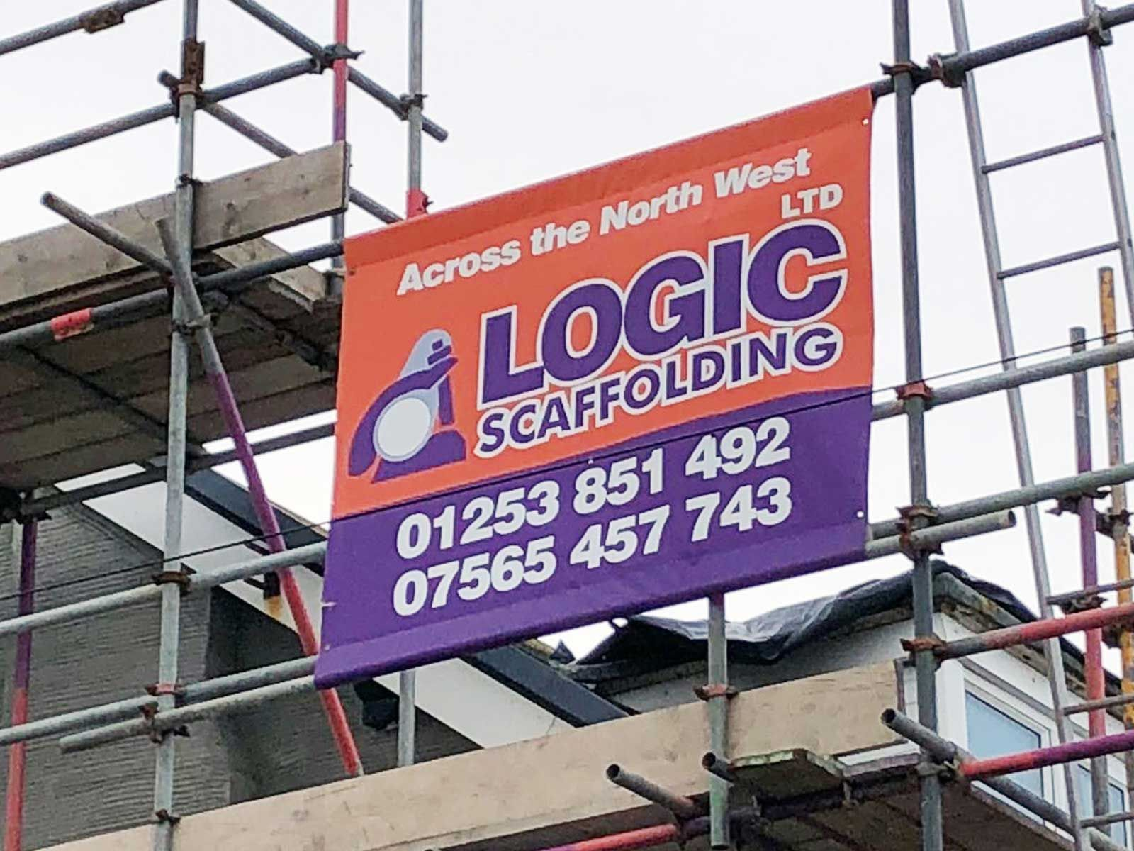 Premium Pvc Scaffold Banners 500gsm Any Design Size Or Quamtity Mesh Banner Construction Signs Pvc