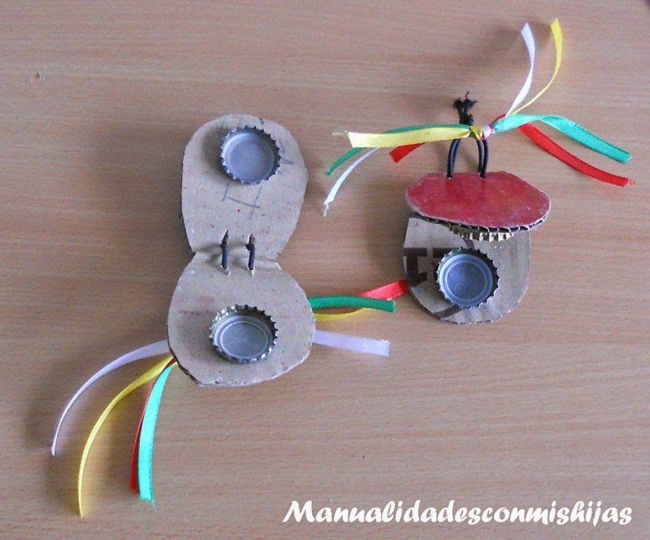 Instrumentos musicales para hacer con los ni os - Manualidades facilisimas para ninos ...