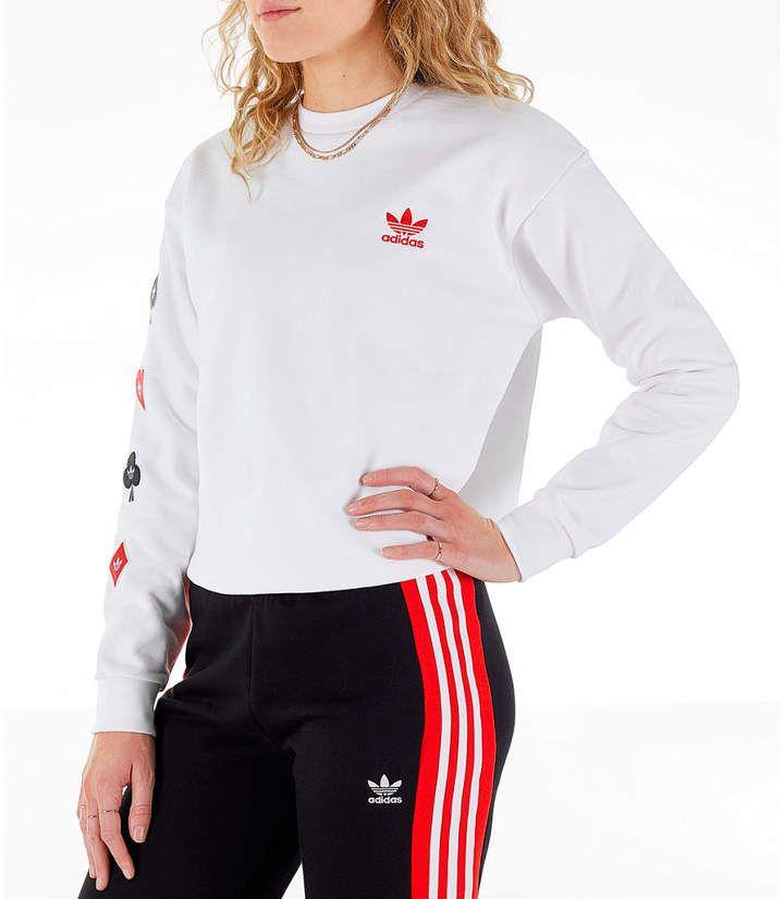 adidas Originals V Day Sweat Crew black