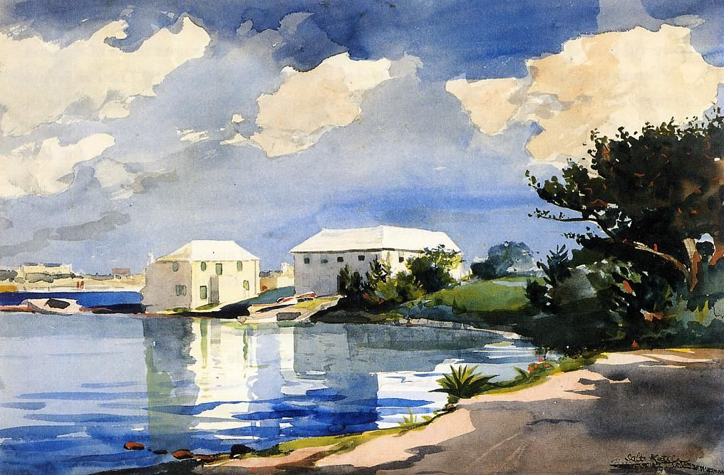 Salt Kettle Bermuda Winslow Homer Paintings Winslow Homer