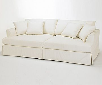 Look What I Found At The Art Shoppe Web Site Slipcover Couch