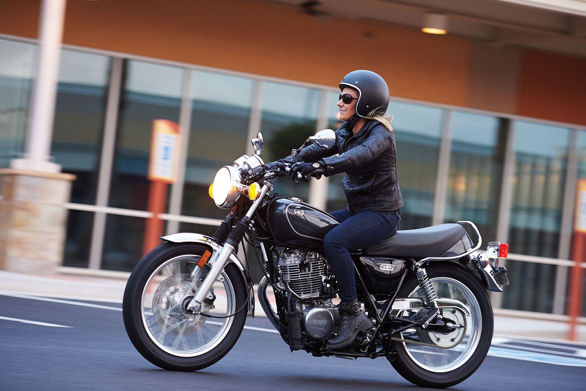 2015 Yamaha SR400 Review Motorcycles Pinterest