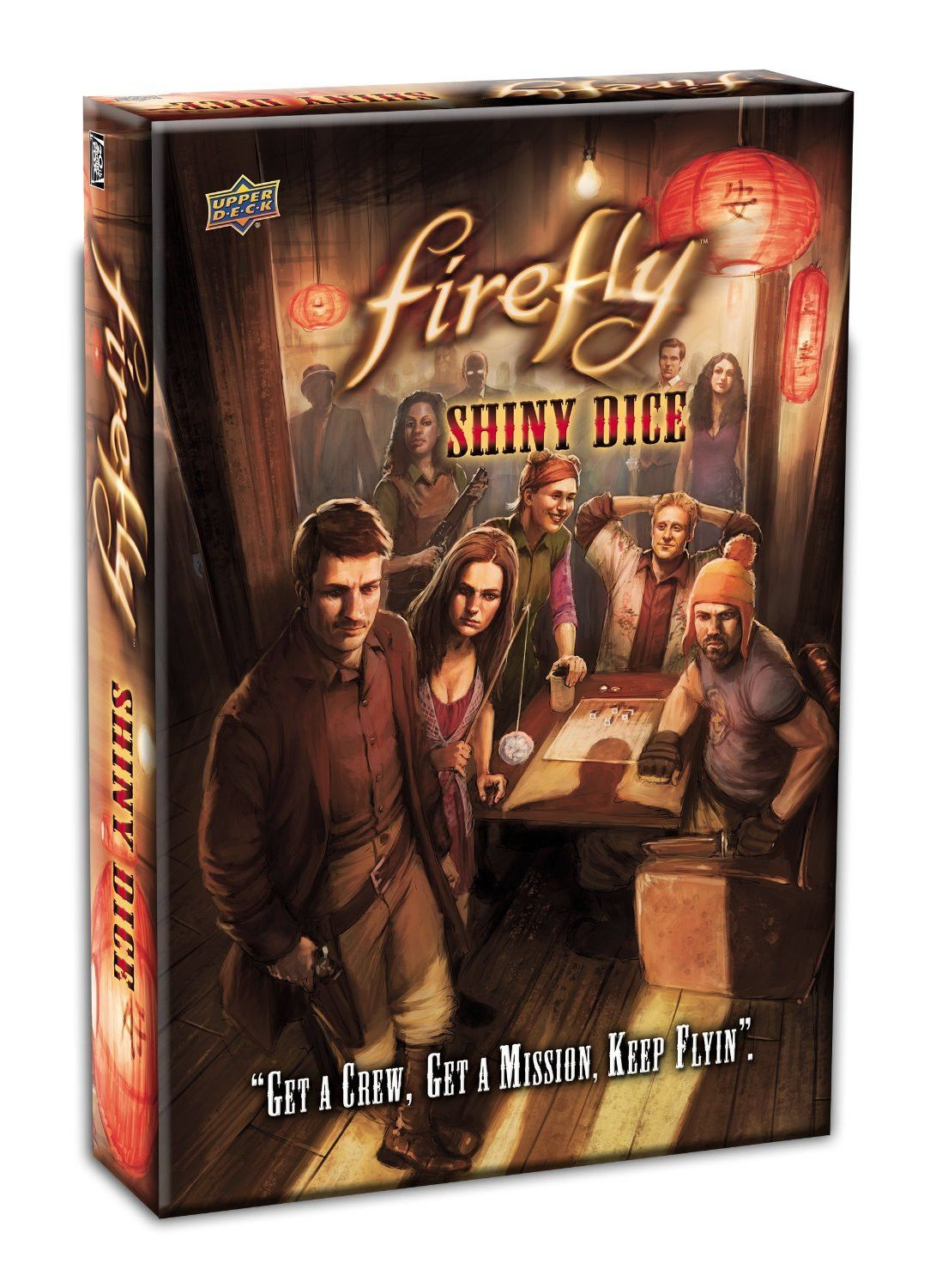 Firefly shiny dice board games dice games card games