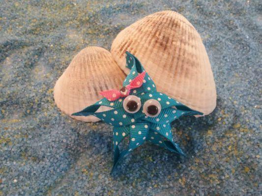 Star Fish Ribbon Sculpture