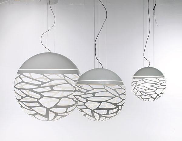 Luminaire Suspension Studio Italia modele Kelly sphere