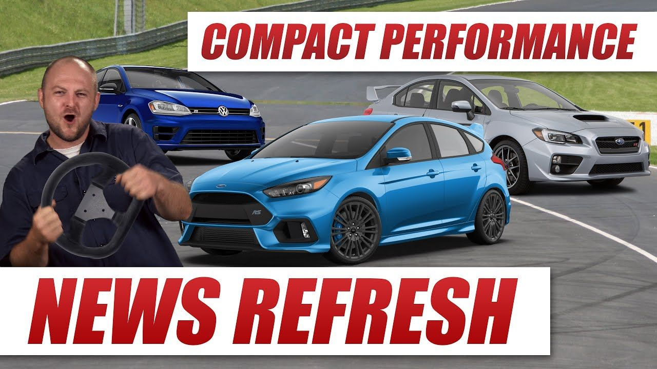 Ford Focus Rs Vs Subaru Wrx Sti Vs Volkswagen Golf R Compact Performance Car Battle Volkswagen Golf R Ford Focus Subaru Wrx