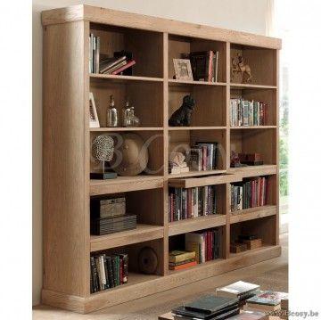 PR Interiors Romelu Boekenkast in weathered oak-eik 240<span style ...