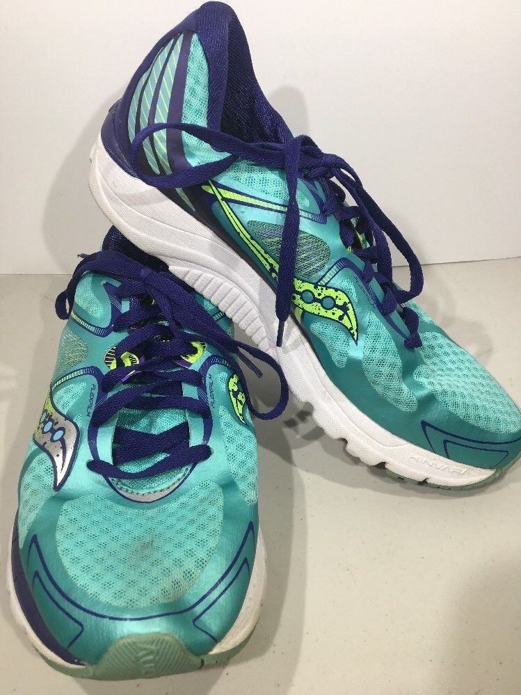 huge selection of a14e3 40f62 Saucony Kinvara 6 Green Blue Women s Size 10 Running Shoes Q1-314  Saucony   Running